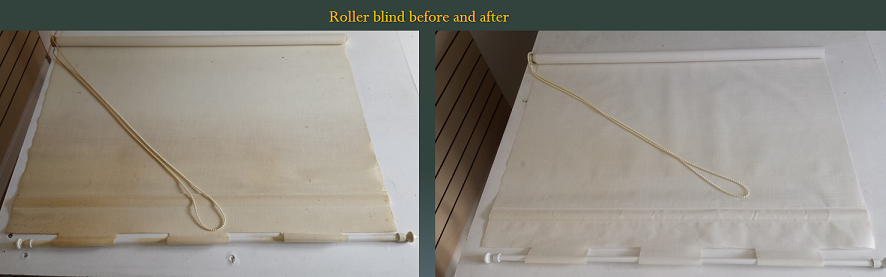 roller blind cleaning